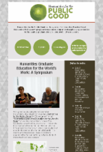 Image of the HPG newsletter published in October 2019