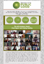 Image of the HPG newsletter published in May 2020