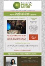 Image of the HPG newsletter published on November 17, 2020