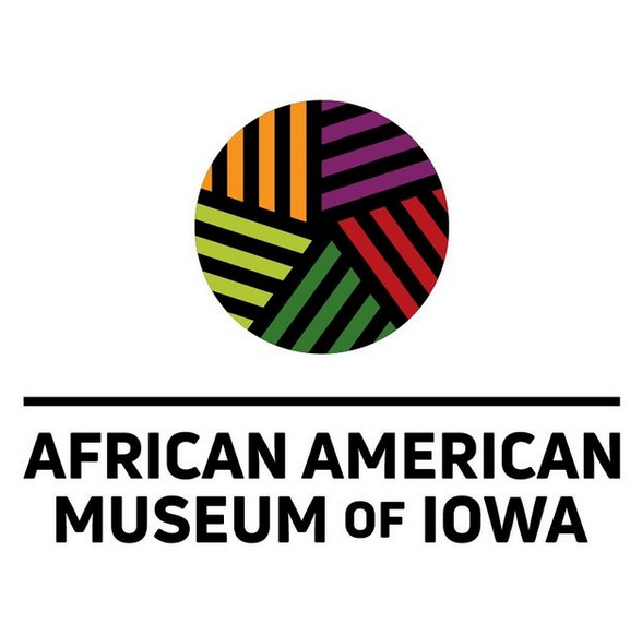 Logo for the African American Museum of Iowa
